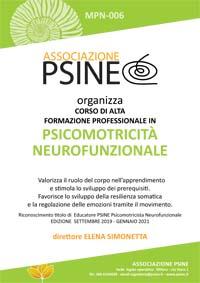 Nuovo corso Psicomotricità Neurofunzionale inizio Settembre 2019
